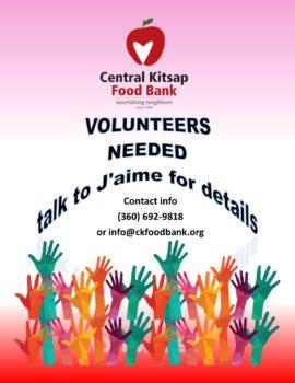 Volunteer at the Central Kitsap Food Bank