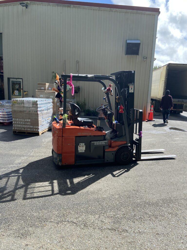 CK Food Bank Forklift