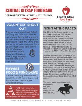 2nd Quarter CK Food Bank Newsletter